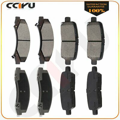 Centric Brake Pad Sets 2-Wheel Set Rear Driver /& Passenger Side New 102.06280