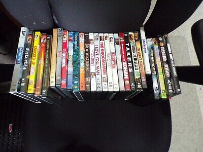 Lot Of 27 Previously Owned Dvd Movies Variety Comedy Sci Fi Drama Family Tv Show