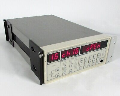 SRS Standford Research Systems - Model SR360, 16 Channel Thermocouple Monitor