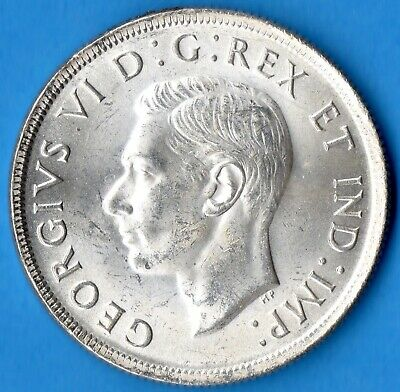 Canada 1937 $1 One Dollar Silver Coin - Trend $100 - MS-63