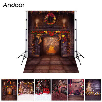 Andoer 1.5*2 meters / 5*7 feet Christmas Holiday Theme Background Photo L4P3