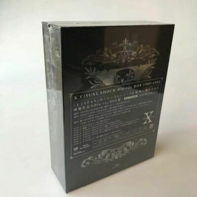 Brand New X JAPAN X VISUAL SHOCK Box Blu-ray 1989-1992 8 Discs Free shipping