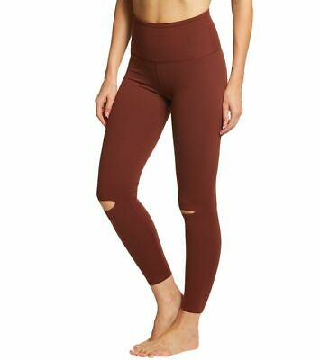 40377bb4fe NWT $88 Beyond Yoga Got to Slit High Waisted Leggings in Red Rock S - SOLD