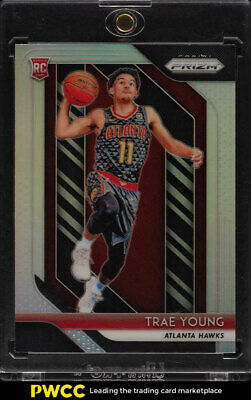 2018 Panini Prizm Silver Prizms Trae Young ROOKIE RC #78 (PWCC)