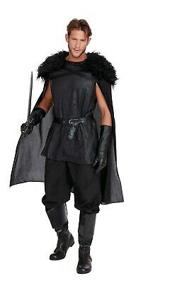 Dreamgirl King of Thrones Snow Warrior Game Adult Mens Halloween Costume 11593