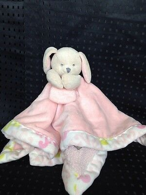 Blankets And Beyond Lovey Security Blanket Plushy Pink Doggy Dog