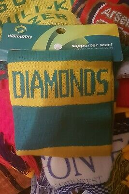 Australian Netball Diamonds Scarf one size New with Tags and Unworn
