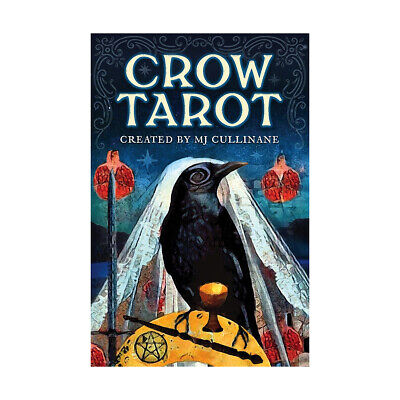 Crow Tarot Deck by Margaux Jones Divination Tools Cards Raven Ravens