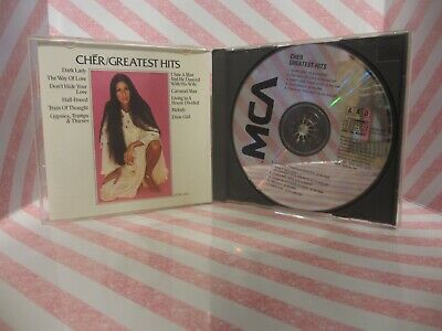 CHER Greatest Hits CD