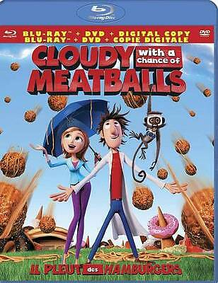 Cloudy With a Chance of Meatballs (Blu-ray/DVD, Region A/1) Very Good condition!