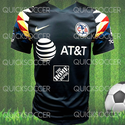 1ad6a075487 NIKE CLUB AMERICA Official 2018 2019 Third Soccer Jersey Size L ...