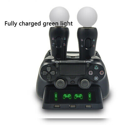 For PS4 Dual Controller Charger/Charging Dock Station/Stand Dualshock Gamepad AU