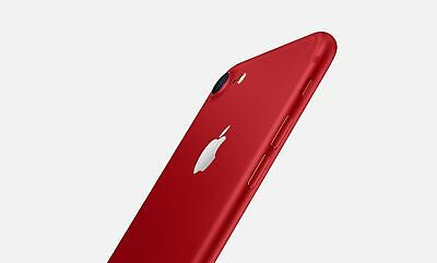 New in Sealed Box Apple iPhone 7 GLOBAL Unlocked Smartphone/128GB/RED