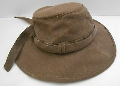 199b36cd1afe31 TILLEY ENDURABLES Women's Melanie HEMP HAT TH9 Brown Sun Block Floats Large