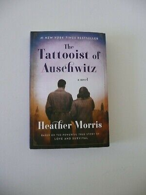 The Tattooist Of Auschwitz Heather Morris  #1 NY Times Bestseller New Paperback