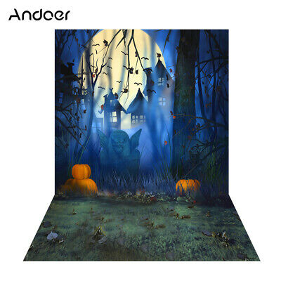 Andoer 1.5 * 2m Photography Background Backdrop Digital Printing Hallowmas E3M0