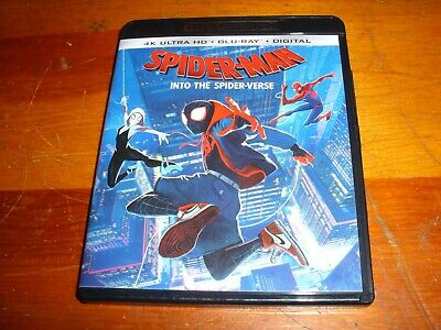 Spider-Man Into the Spider-Verse 4K UHD (NO Bluray or DIGITAL CODE) Dolby Atmos