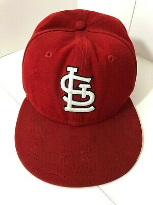 outlet store c32d1 92f8e MLB St. Louis Cardinals New Era 59FIFTY Fitted Cap Hat 5950 7 1 4