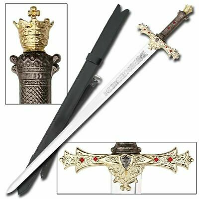 King Arthur's Excalibur Medieval Sword, Legend, Collectible, Round Table Knights