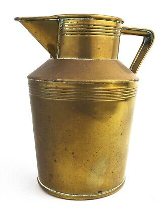 Antique Victorian Arts & Crafts Brass Jug John Marston