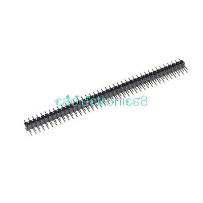 10Stks 40Pin 2.54mm Double Row Straight Male Pin Header Strip PBC Ardunio