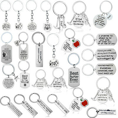 Silver Love Heart Pet Paw Print Pendant Keychain Charm Key Chain Ring Gifts