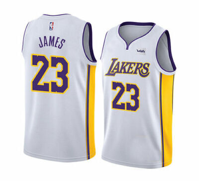 new styles 6c1ea 5afbe 23 LEBRON JAMES LBJ Los Angeles Lakers Jersey Men Child Baby ...