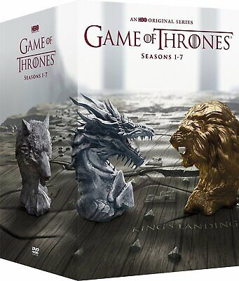 Game of Thrones: The Complete Series Seasons 1-7 (DVD, 2018 34-Disc Box Set) NEW