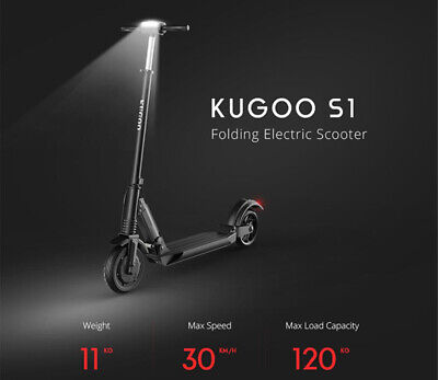 KUGOO S1 Patinete Eléctrico E-Scooter 350W 6.0Ah 30Km/h 8'5 pulg