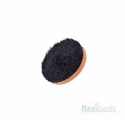 "Flexipads 80mm (3"") DA BLACK Microfibre CUTTING Disc Pad"