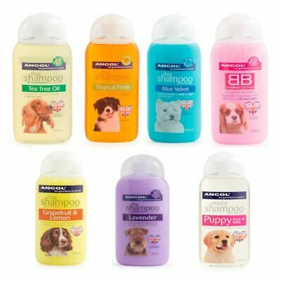 Ancol Dog Shampoo Puppy Luxury Grooming Wash 200ml, 500ml Bottle 8 Fragrances