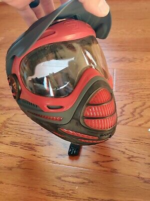 Proto Axis Paintball mask (Red)