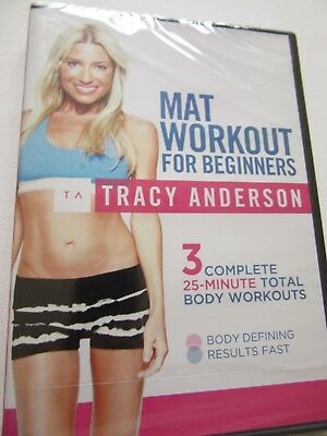 mat workout for beginners tracy anderson 3 complete 25 min workouts
