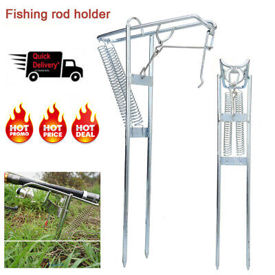 fishing reel KPSY Fishing Rod Holder with Automatic Tip-Up Hook Setter