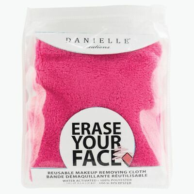Danielle Erase Your Face Single Makeup Removing Cloth - Pink