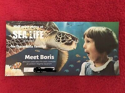 50% Off At Sea Life London Half Price Entry At Sea Life For The  Family Ticket