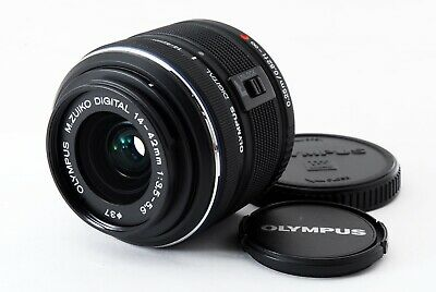 Olympus M.Zuiko Digital 14-42mm F3.5-5.6 II R MSC Lens For Micro Four Thirds Exc