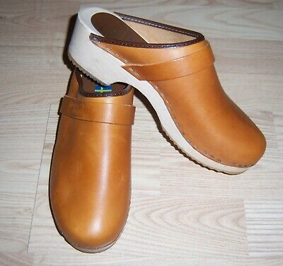Great Women's Clogs Sandals from Moheda Toffeln Size 39 Made in Sweden
