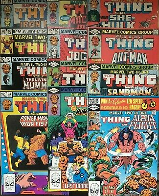 Marvel Two In One. Bronze Age Collection Lot. 48-97. 28 Issues. Most High Grade