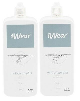 Produit Solution pour Lentilles Contact Multiclean Plus iWEAR 250ml (lot 2)/EBUG