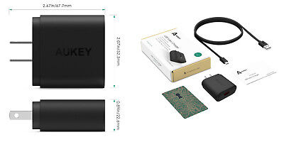 USB Turbo Charger Model PA-U28  AUKEY /EBBQ