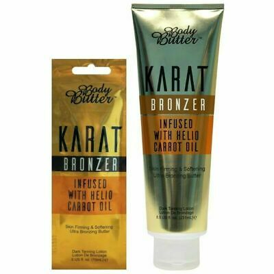 Body Butter = Karat Bronzer = Sunbed Tanning Lotion = Tube Or Sachet