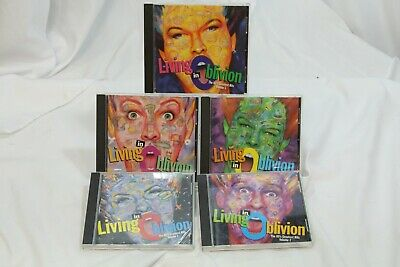 5 Living in Oblivion 80's Greatest Hits Vol 1 - 5  Various Artists  CD Set