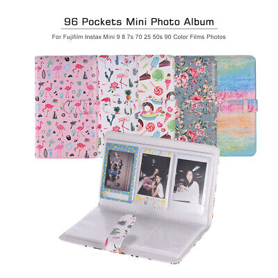 96 Pockets Mini Photo Album Photo Book Album for Fujifilm Instax Mini 9 8 K5F0