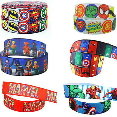 Marvel DC Avengers Hulk Thor Captain Marvel Iron Man Superman SpiderCake Ribbon