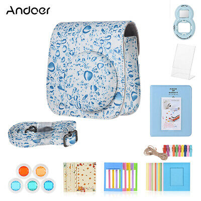 Andoer 8 in 1 Accessories Bundle for Fujifilm Instax Mini 9/8/8+/8s with R3J7