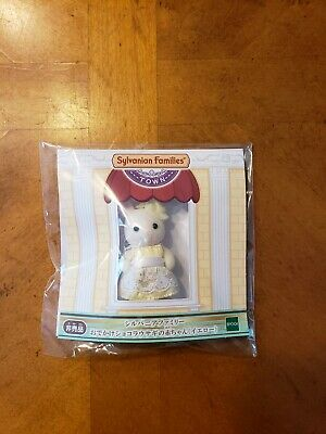 Calico Critters Town Series Rabbit In Yellow Dress Sylvanian Families