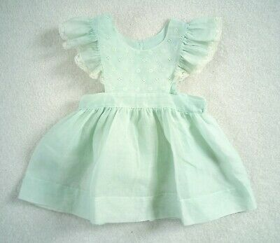 Vintage Girls Party Pinafore Dress 1950