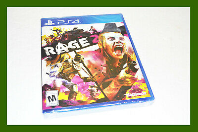 ** New Sealed Rage 2 Ps4 Playstation 4 Video Game 2019 **
