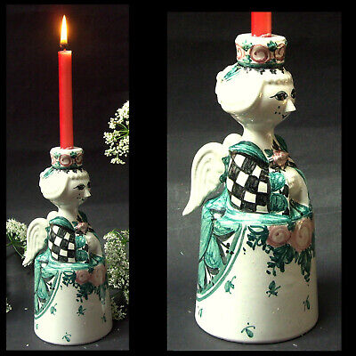 Björn WIINBLAD__Engel_Angel__Keramik Kerzenständer__ceramic candle holder_1981